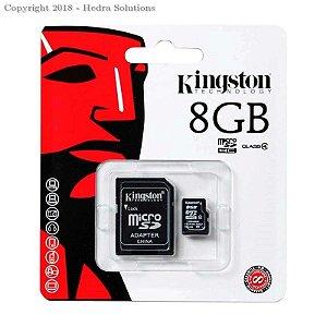 CARTAO DE MEMORIA MICROSD 8GB KINGSTON