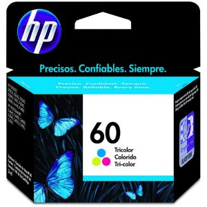 CARTUCHO HP 60 COLOR ORIGINAL