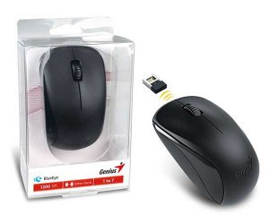 MOUSE WIRELESS NX-7000 BLUEEYE PRETO