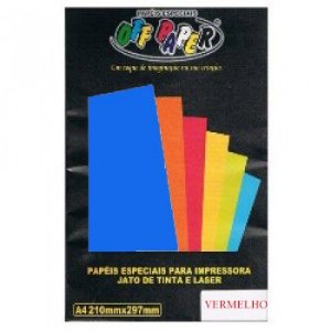 PAPEL VERGE AZUL 180G OFF PAPER