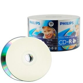 CD-R VIRGEM 80 PINO PHILIPS
