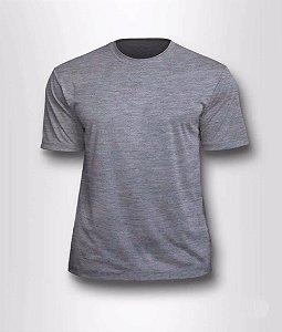 Camiseta Poliester Cinza P/M