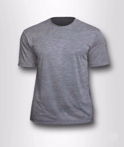 Camiseta Poliester Cinza EG