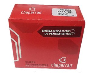 CLIPS CHAPARRAU 2/0 500GR. C/ 732 UND