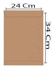 ENVELOPE 240X340 KRAFT A4 UNI