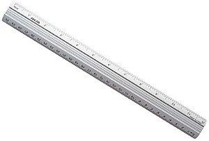 Régua 30Cm Aluminio Leo&Leo