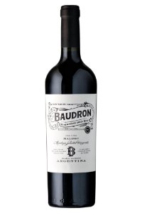VINHO TINTO ARGENTINO BAUDRON MALBEC 2019 750ML