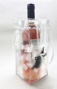 Wine bag - saco refrigerador de bebidas dobrável