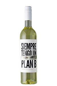 VINHO BRANCO ARGENTINO SIEMPRE TENGO UN PLAN B CHARDONNAY 750ML