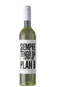 VINHO BRANCO ARGENTINO SIEMPRE TENGO UN PLAN B SAUVIGNON BLANC 2020 750ML