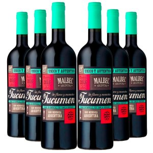 KIT TUCUMEN RESERVA MALBEC 6 GARRAFAS 750ML.