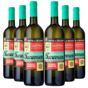 KIT TUCUMEN RESERVA CHARDONNAY 6 GARRAFAS 750ML.
