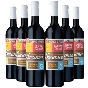 KIT TUCUMEN CABERNET SAUVIGNON 6 GARRAFAS 750ML.