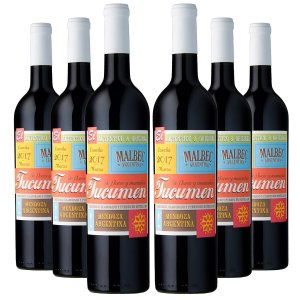 KIT TUCUMEN MALBEC 6 GARRAFAS 750ML.