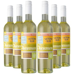 KIT TUCUMEN SAUVIGNON BLANC 6 GARRAFAS 750ML.