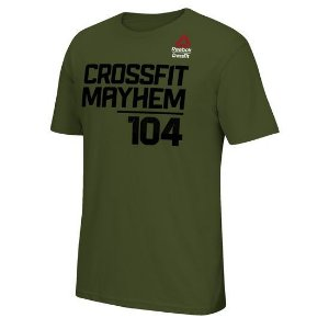 CAMISETA 2017 REEBOK CROSSFIT GAMES - CROSSFIT MAYHEM