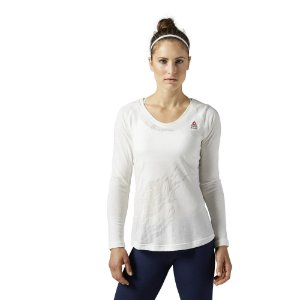 CAMISETA REEBOK CROSSFIT BURNOUT LONG SLEEVE