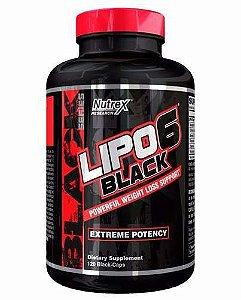 Lipo 6 Black Extreme Potency 120 Caps - Nutrex
