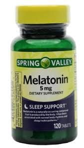 MELATONINA SPRING VALLEY 5MG 120 TABLETS