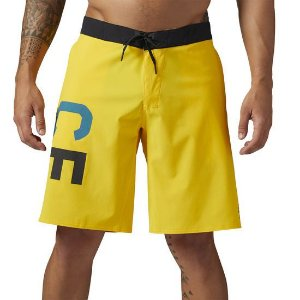 BERMUDA REEBOK CROSSFIT SUPER NASTY BASE AMARELA