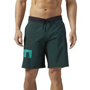 BERMUDA REEBOK CROSSFIT SUPER NASTY BASE VERDE