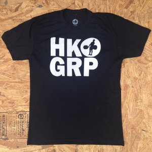 CAMISETA HOOKGRIP BLACK / WHITE
