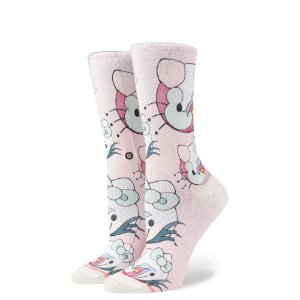 MEIA STANCE BLOSSOMS HELLO KITTY
