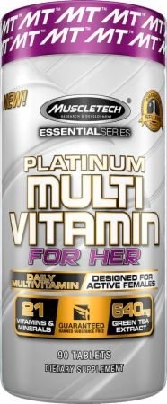 PLATINUM MULTI VITAMIN FOR HER, 90 TABLETS MUSCLETECH
