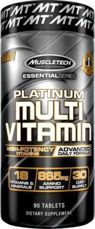 PLATINUM MULTIVITAMIN 90 TABLETS MUSCLETECH