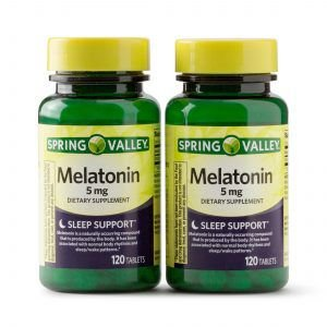 MELATONINA SPRING VALLEY 5MG 120 TABLETS - 2 UNIDADES