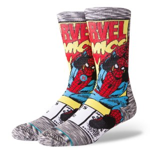MEIA STANCE SPIDERMAN COMIC