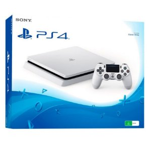 Sony Playstation 4 Slim 500gb Branco com God of War 3