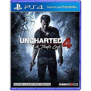 Jogo Uncharted 4 - PS4