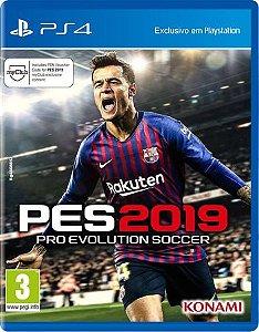 Jogo Pro Evolution Soccer 2019 PES - PS4