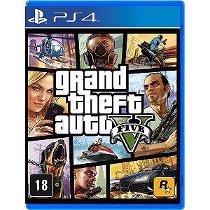 Jogo Grand Theft Auto V GTA 5 - PS4