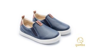 TÊNIS MASCULINO SLIP ON NAVY/WHISKY