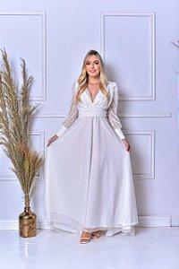 Vestido Daniella Casamento Civil Boho Chic