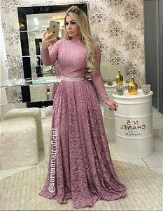 Vestido Princesa longo