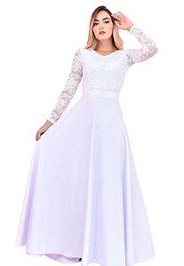 Vestido de Noiva simples para casamento civil