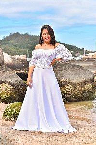 Vestido Clarice Manga Bufante