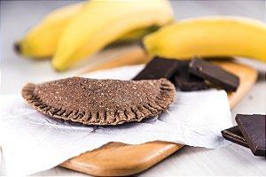 Empanada Integral Grão de Bico - Chocolate com Banana