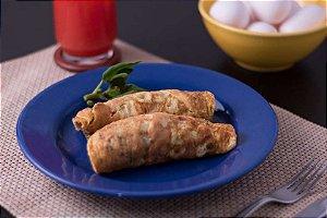 Omelete de Espinafre com Mix de Legumes