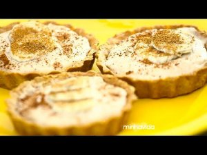 Quiche Banana com Amendoim