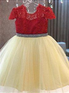Vestido Branca de Neve