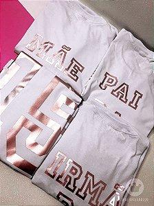 Camisetas personalizadas 15 anos - Família