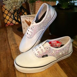Tênis Vans Customizado com cristais