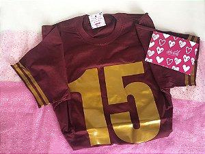 Camisetas personalizadas debutante - Marsala