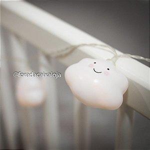 Fio de luz de led - Mini nuvens