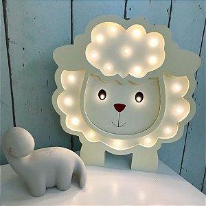 Luminária de ovelha