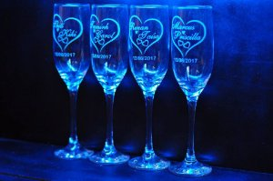 Taça de champanhe Imperatriz 220 ml Personalizada